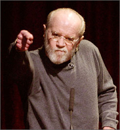 How Would George Carlin Respond to Your Ads?