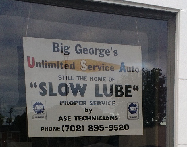 Slow Lube Lansing Positioning
