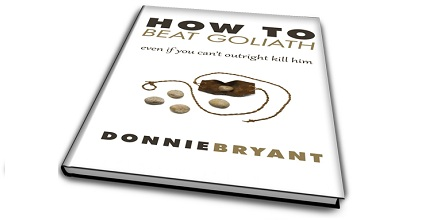 How to beat goliath now on amazon kindle donnie bryant for Bett goliath