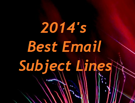 My Top 5 Email Subject Lines from 2014