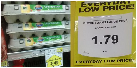 egglands price wars